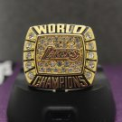 2000 Los Angeles Lakers National Basketball Championship Ring 7-15 Size