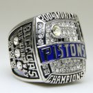 2004 Detroit Pistons National Bakstball Championship Ring 10 Size