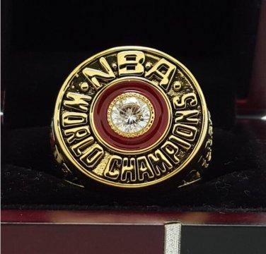 1983 Philadelphia 76ers National Basketball Championship Ring 7-15 Size