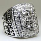 2014 San Antonio Spurs National Bakstball Championship Ring 10 Size Duncan Name