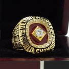 1990 DETROIT PISTON National Basketball Championship Ring 7-15 Size