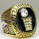 1985 Los Angeles Lakers National Bakstball Championship Ring 10 Size