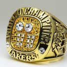 2001 Los Angeles Lakers National Bakstball Championship Ring 10 Size Kobe Name