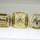 One Set 5 PCS 2000 2001 2002 2009 2010 Los Angeles Lakers National Bakstball