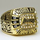 2000 Los Angeles Lakers National Bakstball Championship Ring 10 Size Kobe Name