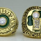 1981 1986 the Boston celtics basketball championship ring size 8 to 14 solid copper ring