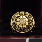 1980 Los Angeles Lakers Basketball world championship ring 8-14S copper