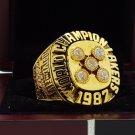 1987 Los Angeles Lakers Basketball world championship ring 8-14S