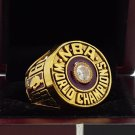1982 Los Angeles lakers Basketball world championship ring 8-14S