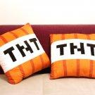 Minecraft TNT Plush Pillow 40cm Minecraft TNT Plush Toys Doll Kawaii peluche Minecraft TNT