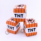 10cm Minecraft TNT Plush Toys Stuffed Key Chain Mini Bomb Toys Minecraft Plush Doll Toys