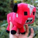 16cm Minecraft Game Toy Stuffed Plush Toys Red Minecraft Mooshroom Animal Plush Toys