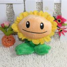 18CM Sunflower Plush Toys Doll Top Games Plants vs Zombies Soft Stuffed Plush Toys