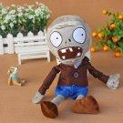 Gray Zombie Plush Toys 30cm Plants vs Zombies Soft Stuffed Toys