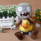 Duck Zombie Plush Toys 30cm Plants vs Zombies Soft Stuffed Toys