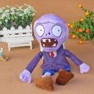 Purple Zombie Plush Toys 30cm Plants vs Zombies Soft Stuffed Toys