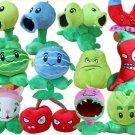 12pcs/set Stuffed Toys Plants Vs Zombies Soft Plush Toys Doll PVZ 13-20cm Plants Plush Toy