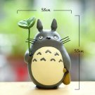 Totoro With Leaf Mini Figure Toy Studio Ghibli