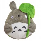 30cm Cute Totoro Large Pillow Cushions Cartoon Doll Stuffed Totoro Lotus Leaf +