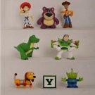 8pcs/lot Cute Toy Story 3 Set Buzz Lightyear Woody PVC Action Figure Doll Toys