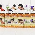 6pcs/lot Dragon Ball Z Flying Son Goku Vegeta Piccolo Frieza Raditz Figure Toy with box