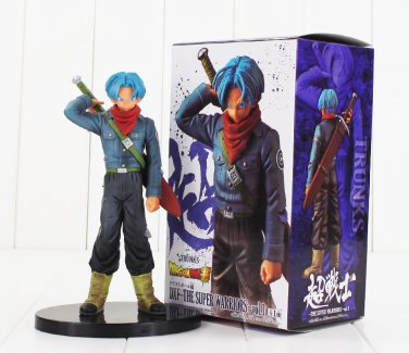 The Super Warriors Figure Son Goku Black Trunks Super Saiyan Dragon Ball Z (Blue Hair)