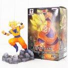 17cm Soul X Soul Son Goku Figure Toy Dragon Ball Super Saiyan