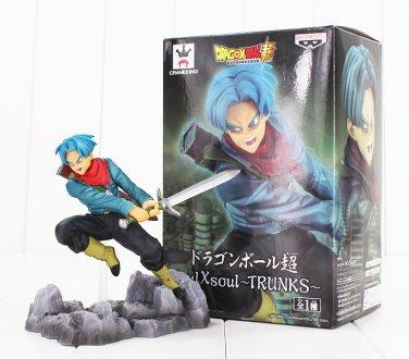 17cm Soul X Soul Son Goku Black Gokou Trunks With Sword Figure Toy Dragon Ball Super Saiyan