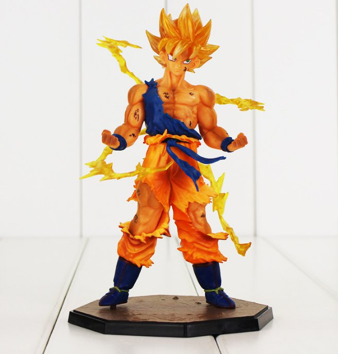Dragon Ball Z Figure Toy Son Goku Super Saiyan Figuarts Zero Anime