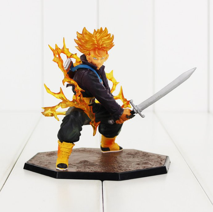 Dragon Ball Z Figure Toy Trunks Super Saiyan Figuarts Zero Anime