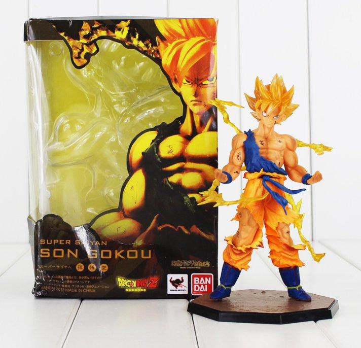 Dragon Ball Z Figure Toy Son Goku Super Saiyan Figuarts Zero Anime with box