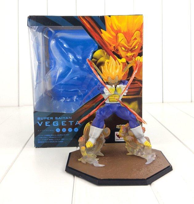 Dragon Ball Z Figure Toy Vegeta Super Saiyan Figuarts Zero Anime with box