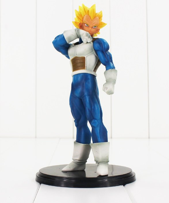 Dragon Ball Z Resolution of Soldiers Figure Toy Vegeta Super Saiyan Anime