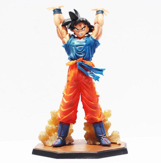 16cm Anime Dragon Ball Z Figuarts Zero Son Goku Spirit Bomb Genki Dama Ver