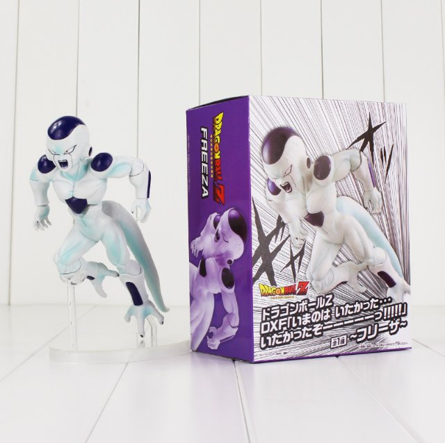 18cm Dragon Ball Z Freeza Figure Toy Final Complete Body Frieza Anime with box