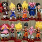 Set Dragon Ball Episode of Boo Buu Son Goku Vegeta Hercule Dabura Son Gohan Videl