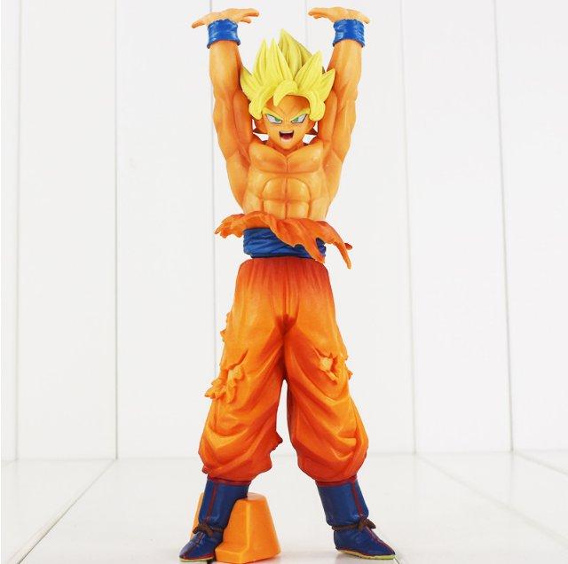 24cm Son Goku Spirite Bomb Gokou Genkidama Figure Toy Anime Dragon Ball Z Style B
