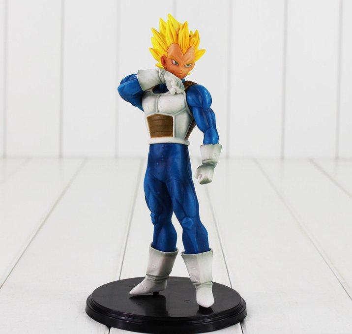 20cm Anime Dragon Ball Z Figure Toy Vegeta Banpresto Cool Model Doll