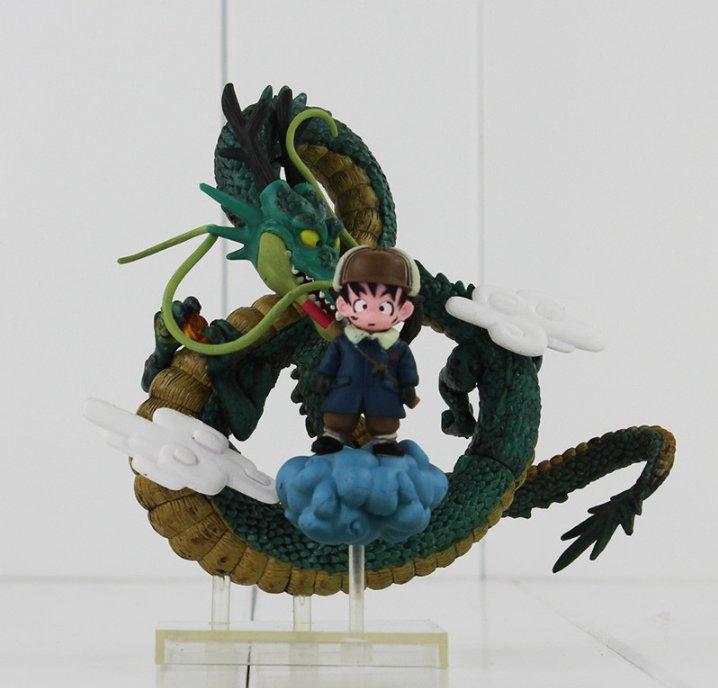 Anime Dragon Ball Z Shenron Son Goku PVC Action Figure Model Toy Doll Collection