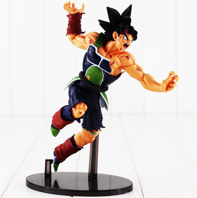 22CM Banpresto SCultures BIG Dragon Ball Z Burdock Styling God Super Saiyan