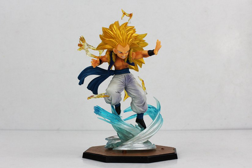 16cm Hot Anime Dragon Ball Z Figuart Zero Super Saiyan 3 Gotenks