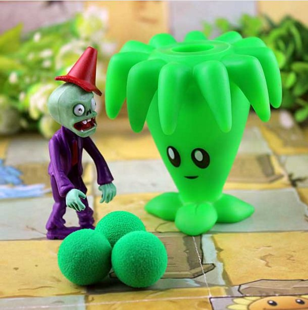 2017 new game swept the world of plants and Zombies new popular (Black)