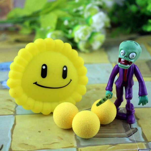 2017 new game swept the world of plants and Zombies new popular (Yellow)