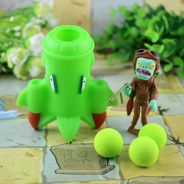 2017 new game swept the world of plants and Zombies new popular (Burgundy)