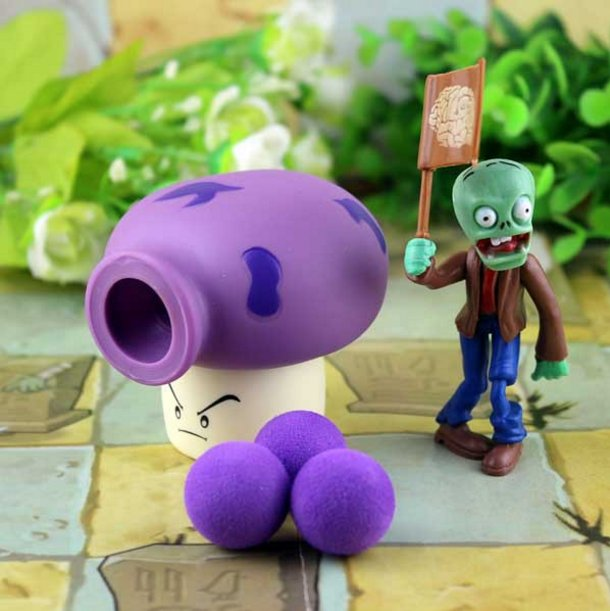 2017 new game swept the world of plants and Zombies new popular (Dark Khaki)