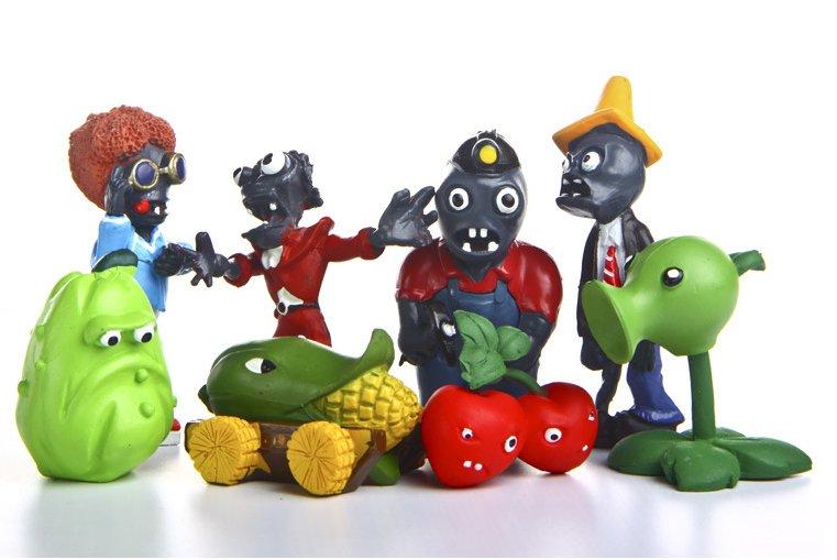 Plants vs Zombies Toys Peashooter Cherry Bomb Kernel Squash Conehead Zombie