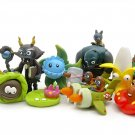 Plants vs Zombies 3 Figure Toy Plants and Zombies PVC Action Figures 10pcs/lot 2-7cm