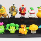 4~7cm 10pcs/set PVZ Plants Vs Zombies PVC Action Figure Collection Toys Dolls