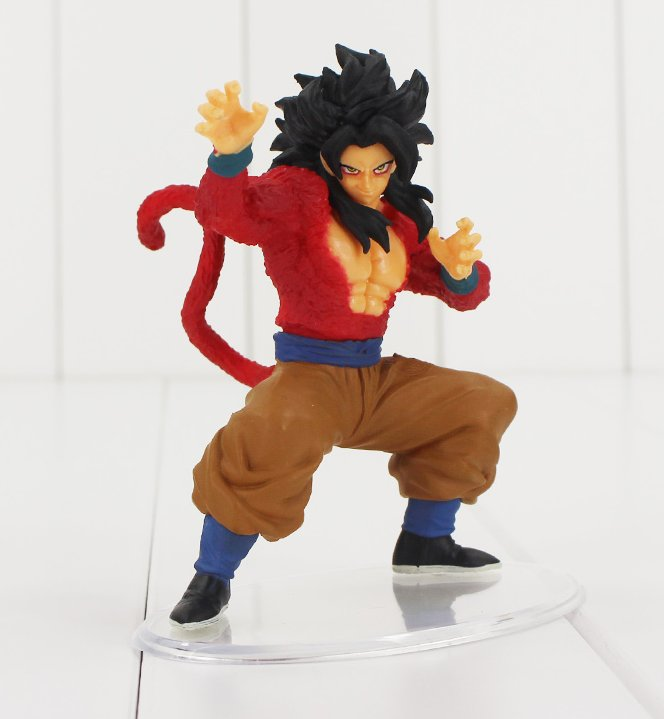 11cm Dragonball Styling Figure Toy Super Saiyan 4 Son Gokou Goku Anime Dragon Ball
