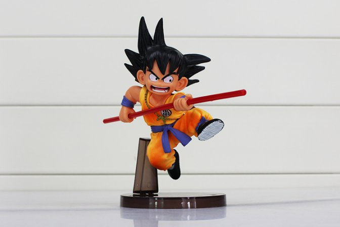 14cm Dragon Ball Z Budokai DBZ Sun Goku Childhood PVC